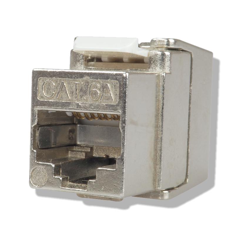 C6as6 Mini Keystone Modul Cat 6a Rj45 Geschirmt 5 90