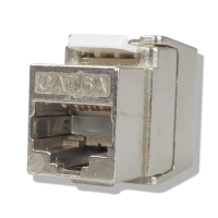 C6AS6 mini Keystone Modul Cat.6A RJ45, geschirmt