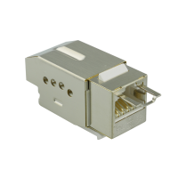 QUICKlock45 C6ASQ1 Tolless RJ45 Keystone Modul Cat.6A...
