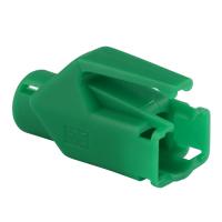 Knickschutztülle Hirose für TM11 / TM21 / TM31 Stecker mit Rastnasenschutz, grün, Seite A