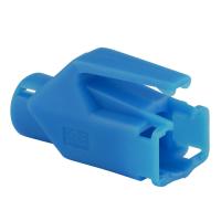 Knickschutztülle Hirose für TM11 / TM21 / TM31 Stecker mit Rastnasenschutz, blau, Seite A