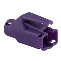 Knickschutztülle Hirose für TM11 / TM21 / TM31 Stecker mit Rastnasenschutz, lila, Seite A