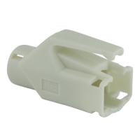 Knickschutztülle Hirose für TM11 / TM21 / TM31 Stecker mit Rastnasenschutz, weiß, Seite A