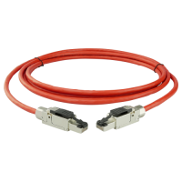 FMP PRO-900 PUR Cat.6A S/FTP Patchkabel AWG27/7 Rot
