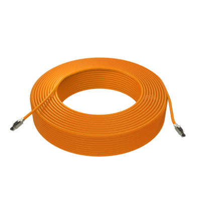 FMP PRO-1000 Cat.6A S/FTP Patchkabel AWG23/1 LSOH Orange