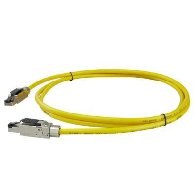 FMP PRO-900 PUR Cat.6A S/FTP Patchkabel AWG27/7 Gelb