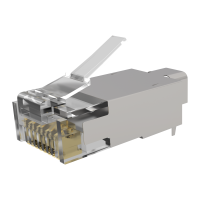 RJ45-modular Stecker BIGhole AWG23 - 26 - 1,45mm Cat.6A...
