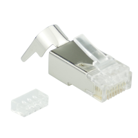 RJ45-modular Stecker BIGhole AWG 24-27 1,3mm  Cat.6A...