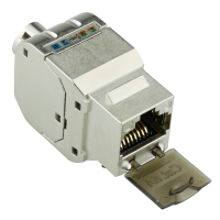 C6AS4 Keystone Modul Cat.6A RJ45, geschirmt