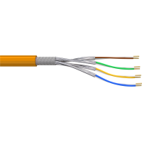 AIXONLAN 1000 Cat.7 S/FTP Verlegekabel AWG23/1 LSOH Orange