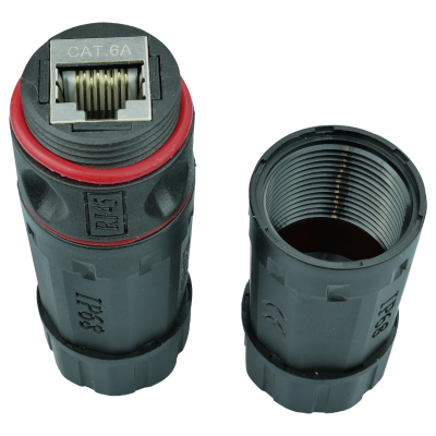Inline Couple Outdoor IP68 RJ45-RJ45 Cat.6 /Cat.6A geschirmt