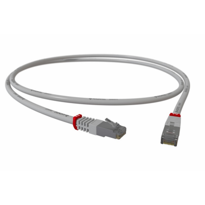 SMART-200 Cat.5e F/UTP RJ45 Patchkabel AWG27/7 PVC grau
